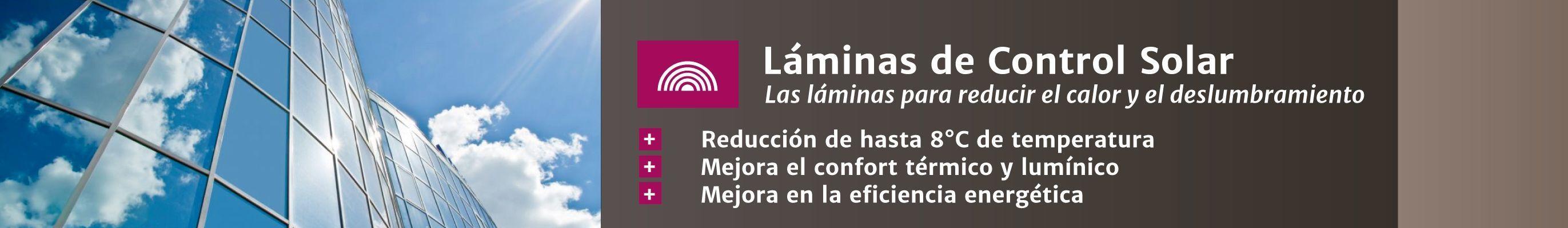 Láminas control solar Laminotech
