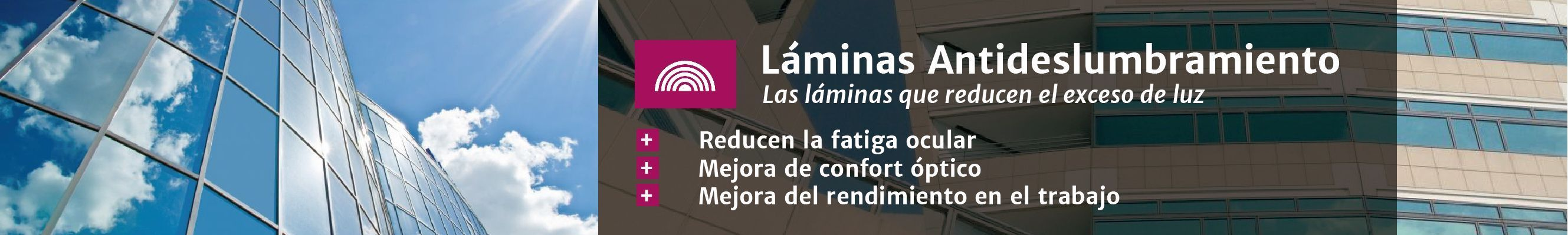 Láminas antideslumbramiento en Laminotech