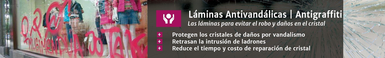 Láminas Antivandalismo y antigraffiti en Laminotech