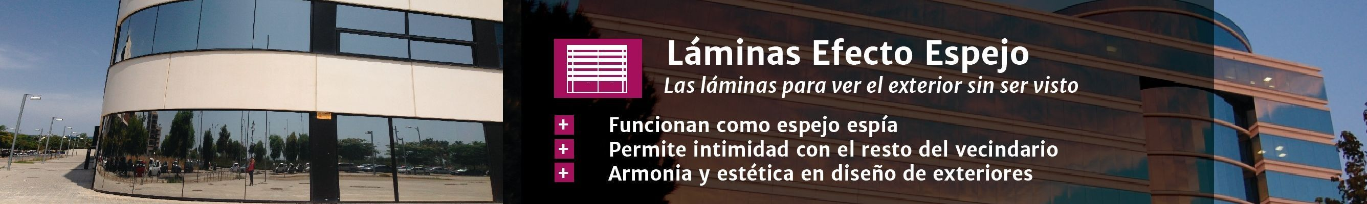 Láminas de efecto espejo en Laminotech