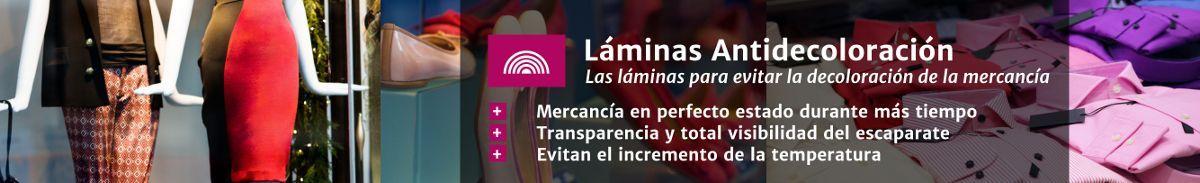 Láminas antidecoloración en Laminotech