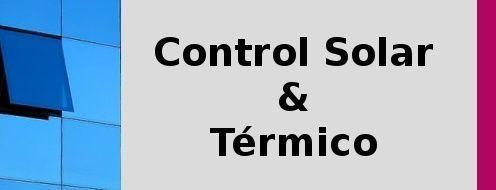 Laminas de control solar y termico