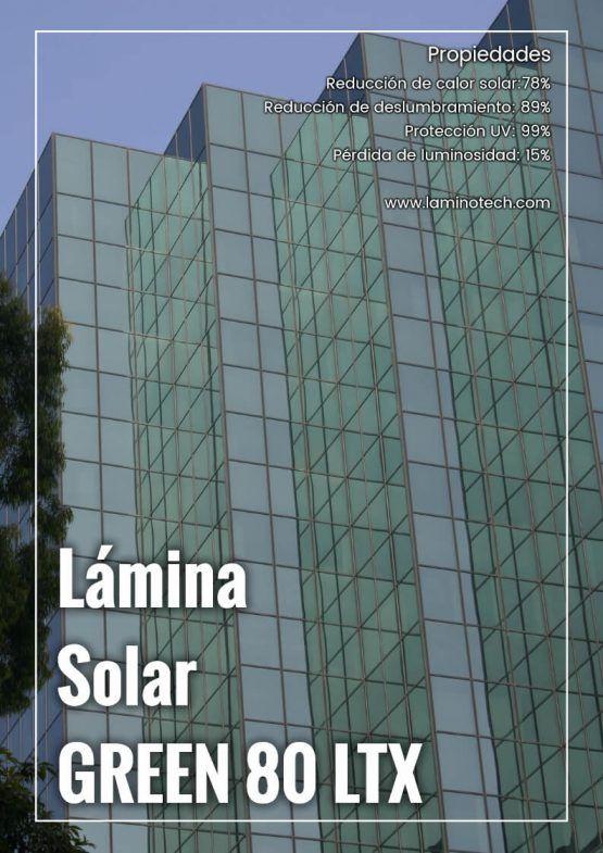 Lámina Solar Green 80 LTX.
