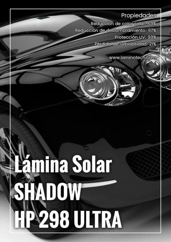Lámina Solar Shadow HP 298 Ultra.