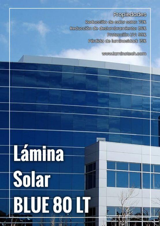 Lámina Solar Blue 80 LT.