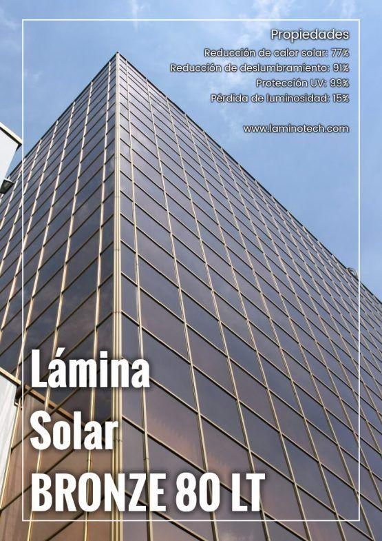 Lámina Solar Bronze 80 LT.