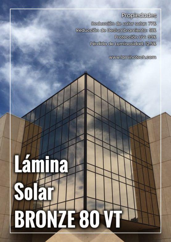 Lámina solar Bronze 80 VT