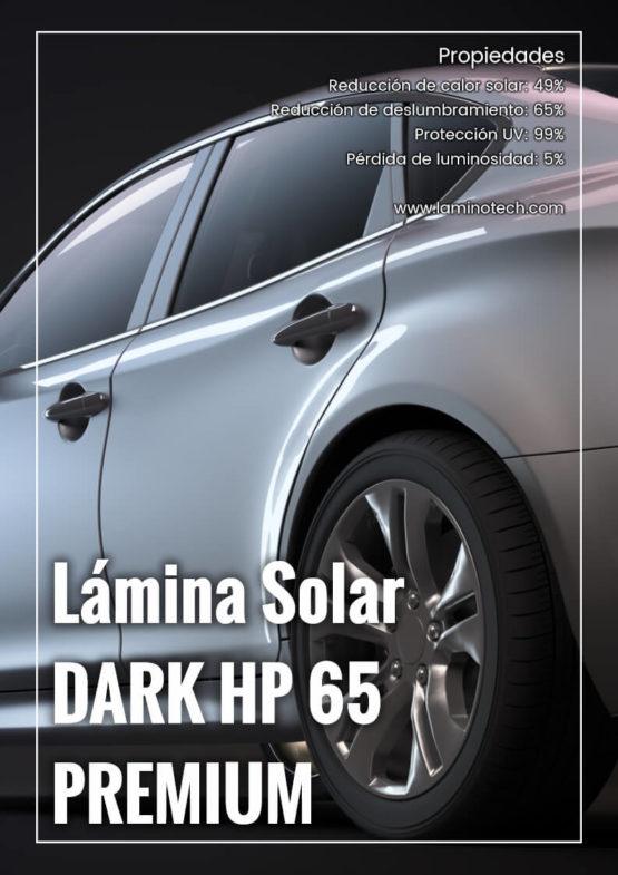 Lámina Solar Dark HP 65 Premium.