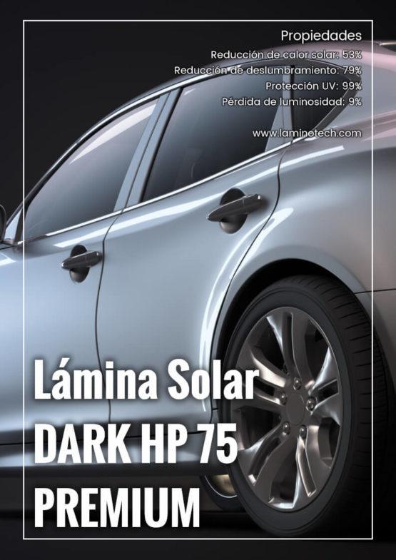 Lámina Solar Dark HP 75 Premium.