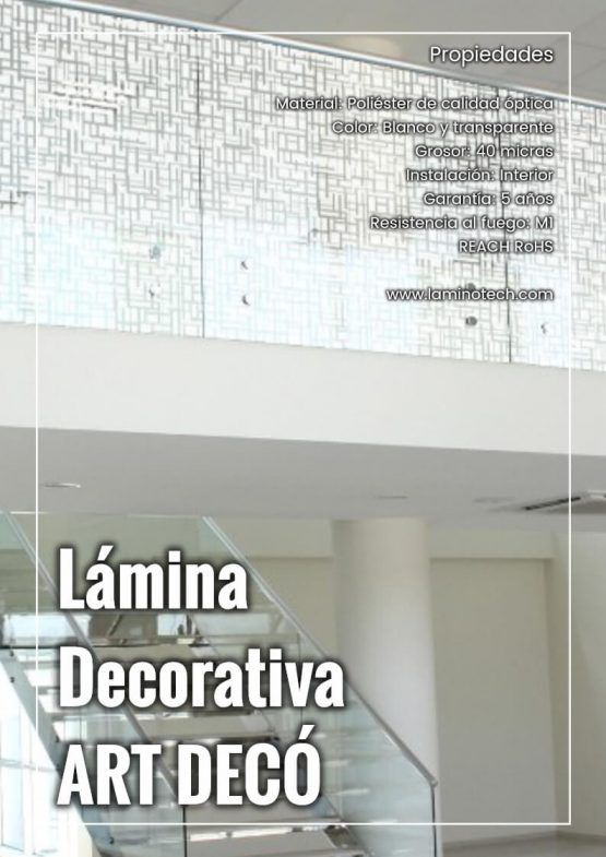 Lámina Decorativa Art Decó
