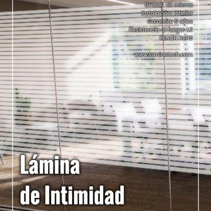 Lámina de Intimidad Franjas 35 Mate
