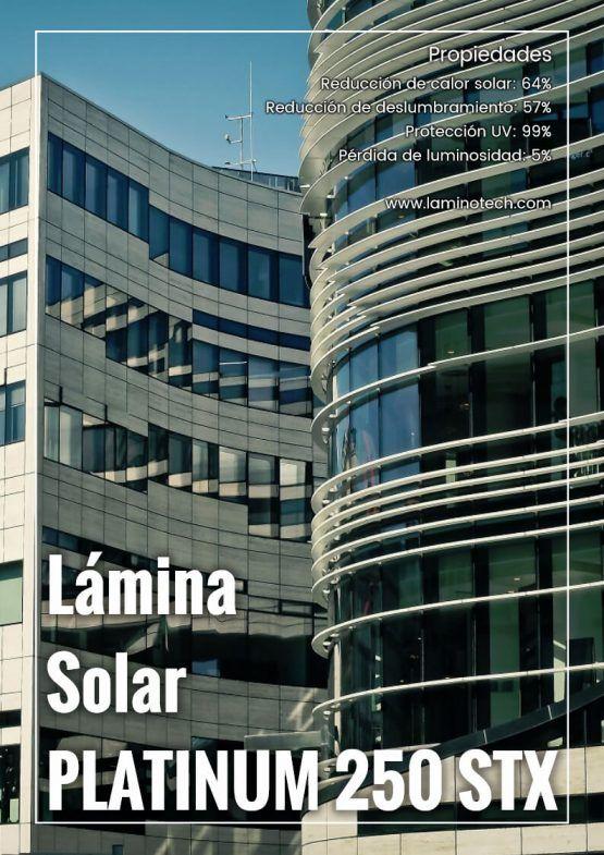 Lámina Solar Platinum 250 STX.
