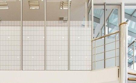 lamina polyester decorativa cuadrados de 18 x 18 mm