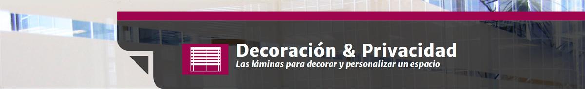 Láminas de decoración y privacidad en Laminotech