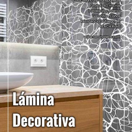Lámina Decorativa Dripping