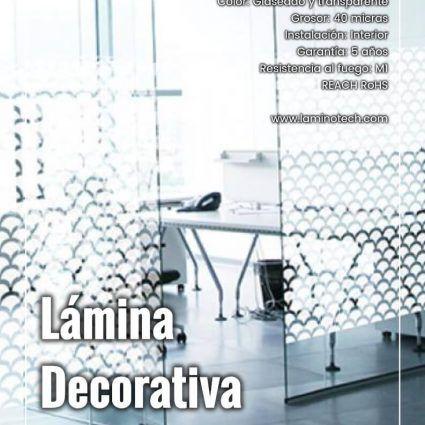 Lámina Decorativa Esferas