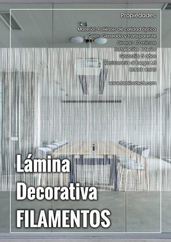 Lámina Decorativa Filamentos