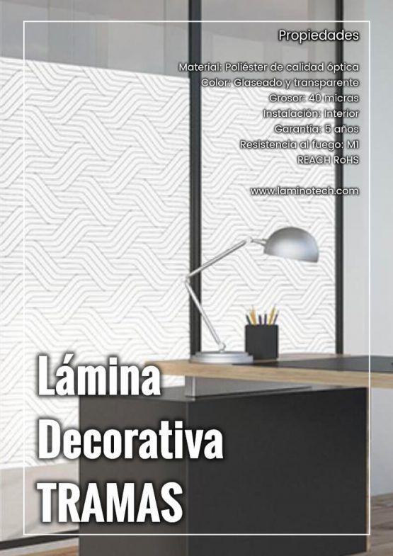 Lámina Decorativa Tramas